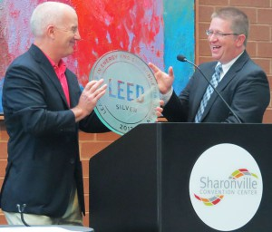 Sharonville Convention Center receiving LEED Certification