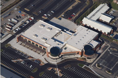 Sharonville Convention Center Parking - Aerial View