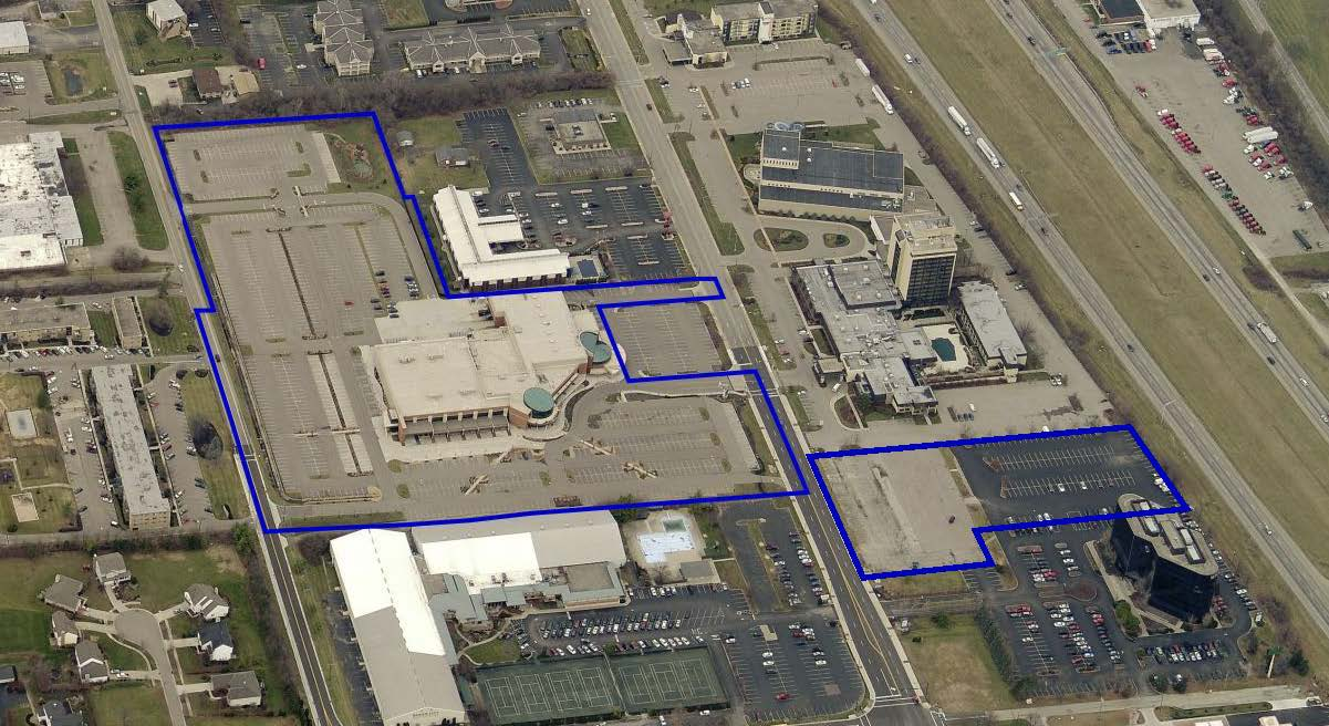 Sharonville Convention Center Parking Map